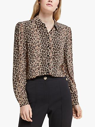 Somerset by Alice Temperley Animal Print Shirt, Natural