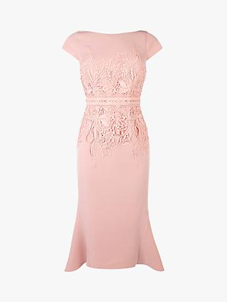 Coast Lace Shift Dress, Blush