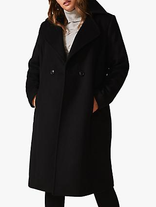 Studio 8 Addison Smart Coat, Black