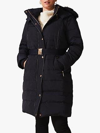 Studio 8 Brisa Puffer Coat, Navy