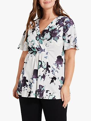 Studio 8 June Abstract Floral Top, Multi