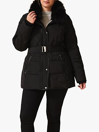 Studio 8 Deasia Short Quilted Coat, Black