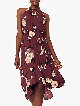Oasis Wild Rose Ruffle Dress, Multi