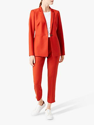 Hobbs Nadia Jacket, Burnt Orange