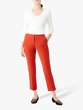 Hobbs Nadia Trousers, Burnt Orange