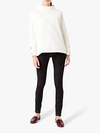 Hobbs Lucille Cotton Blend Top, Ivory