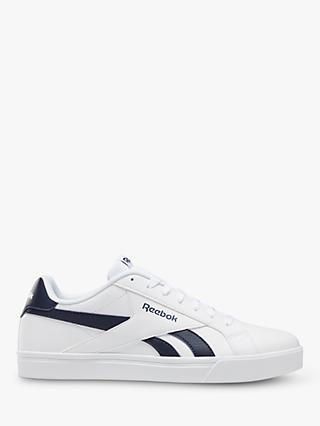 Reebok Royal Complete 3.0 Low Men's Trainers, White/Collegiate Navy