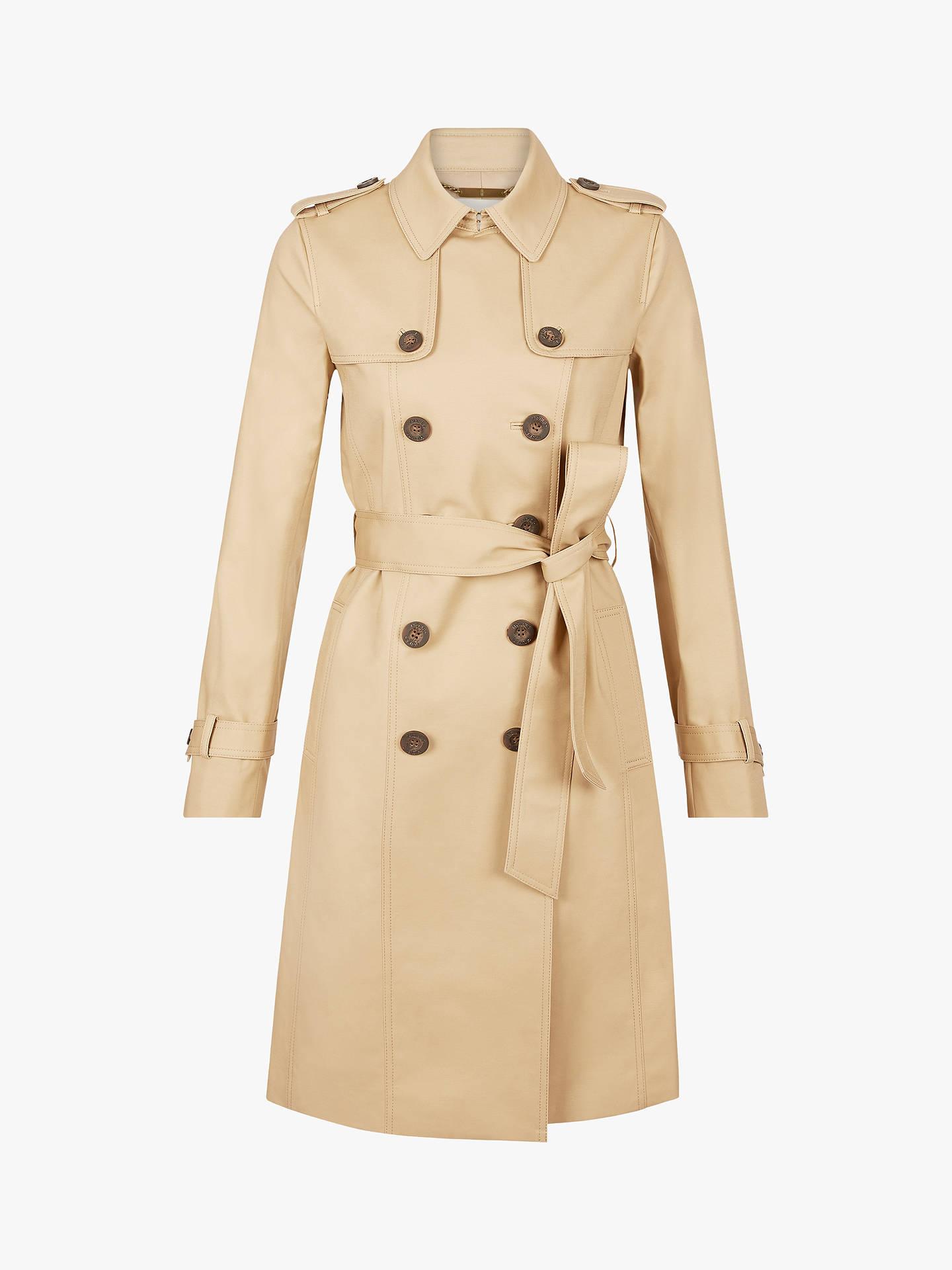 On Clearance newest reasonably priced Hobbs Petite London Saskia Trench Coat, Mocha