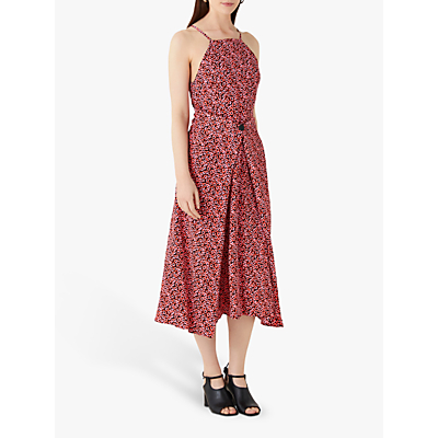 Finery Orchard Dress, Red/Multi