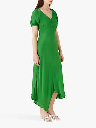 Finery Harley Satin Hanky Hem Dress
