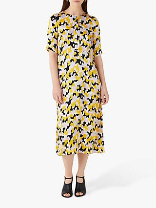 Finery Libby Dress, Yellow Multi