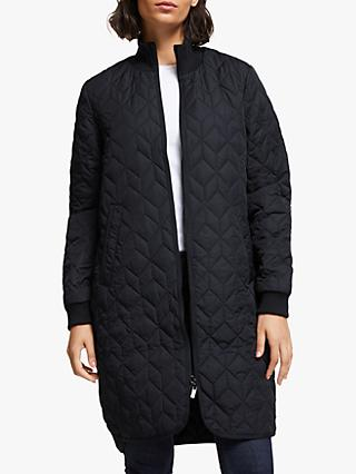 Ilse Jacobsen Hornbæk Padded Quilted Coat, Dark Indigo