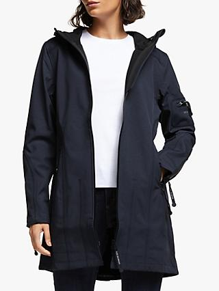 Ilse Jacobsen Hornbæk 3/4 Length Raincoat, Indigo