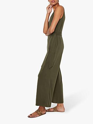 Warehouse Modal Wide Leg Jumpsuit