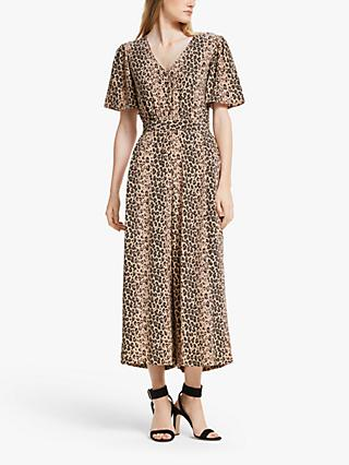 Somerset by Alice Temperley Animal Print Jumpsuit, Natural