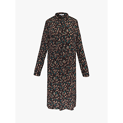 Gerard Darel Abstract Print Dress, Black