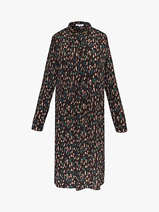 Gerard Darel Abstract Print Dress, Black