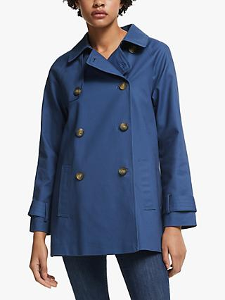John Lewis & Partners A-Line Swing Mac Coat