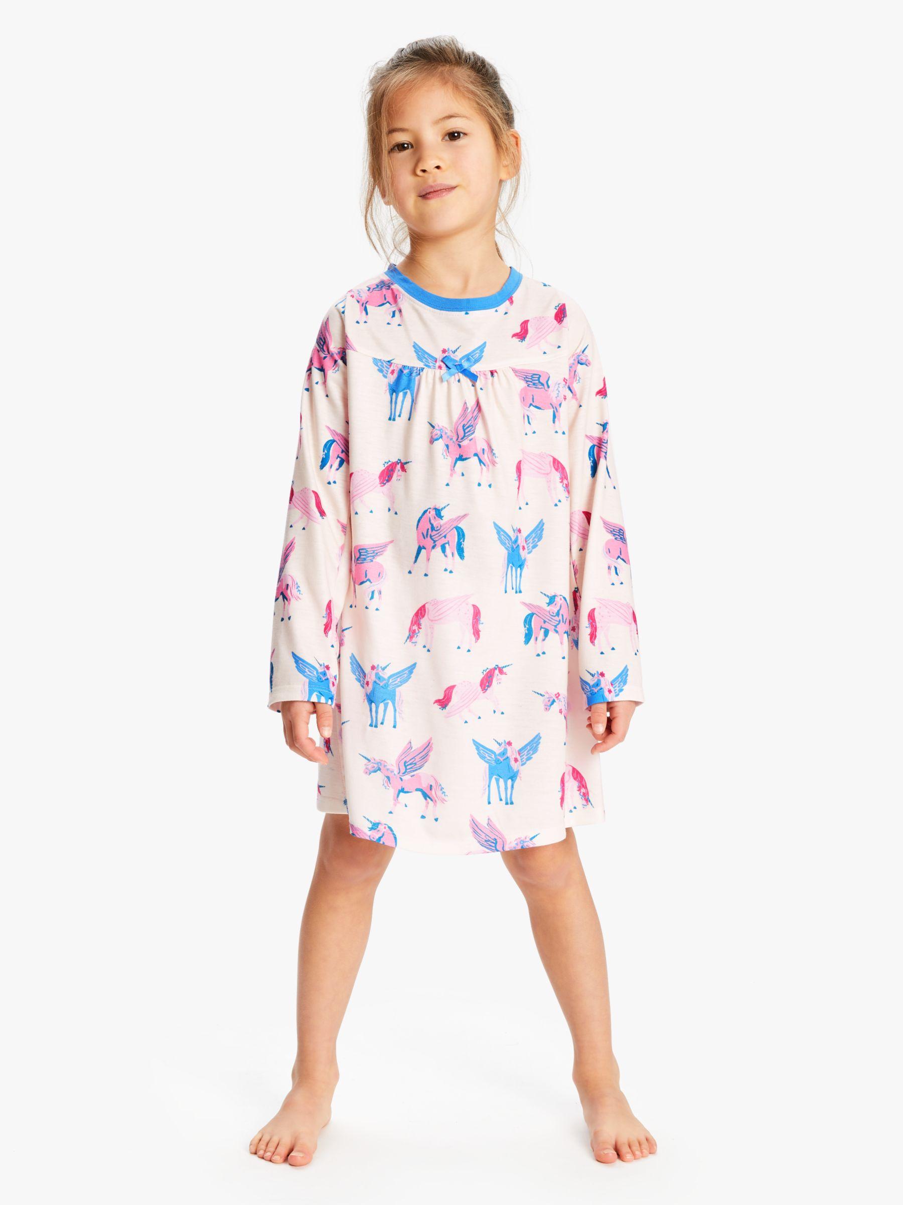 Hatley Hatley Girls' Unicorn Print Night Dress, Multi