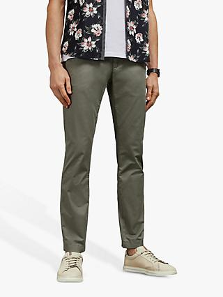 Ted Baker Seenchi Slim Fit Chinos, Mid-Green