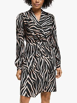 Gestuz Fie Animal Print Dress, Rose/Multi
