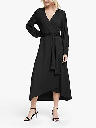 Gestuz Justa Wrap Dress, Black