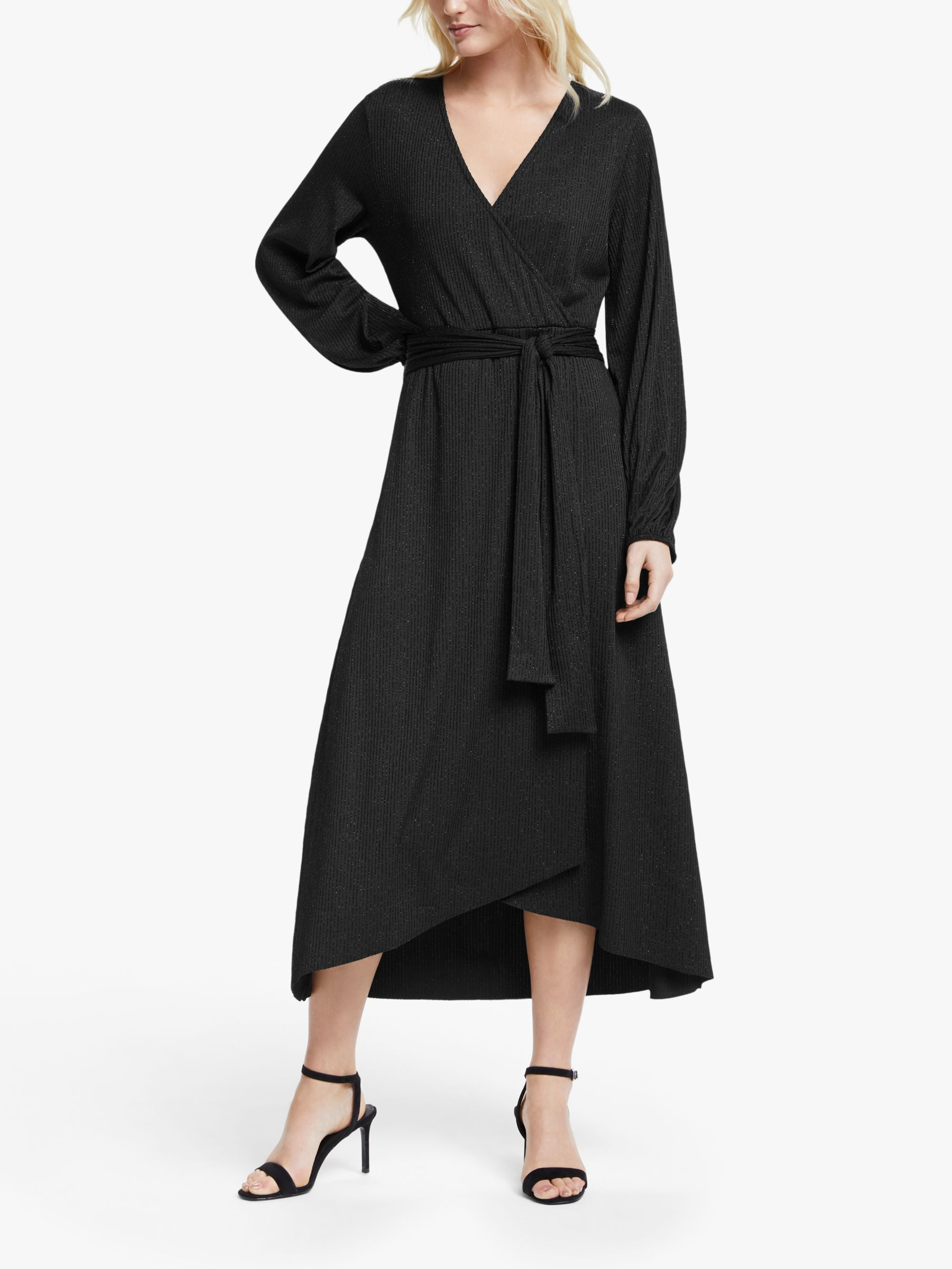 Gestuz Gestuz Justa Wrap Dress, Black