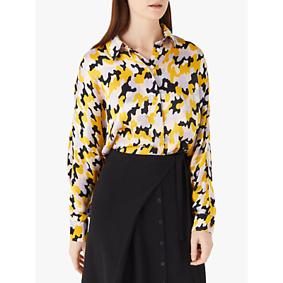 Finery Eris Shirt, Yellow Multi
