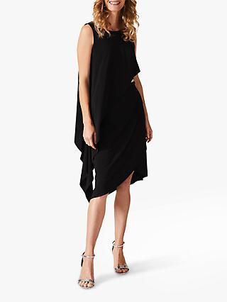 Phase Eight Julitta Trim Dress, Black