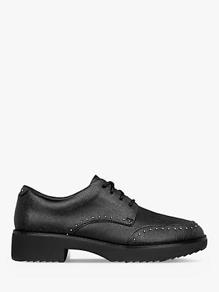 Fitflop Keely Textured Brogues, Black