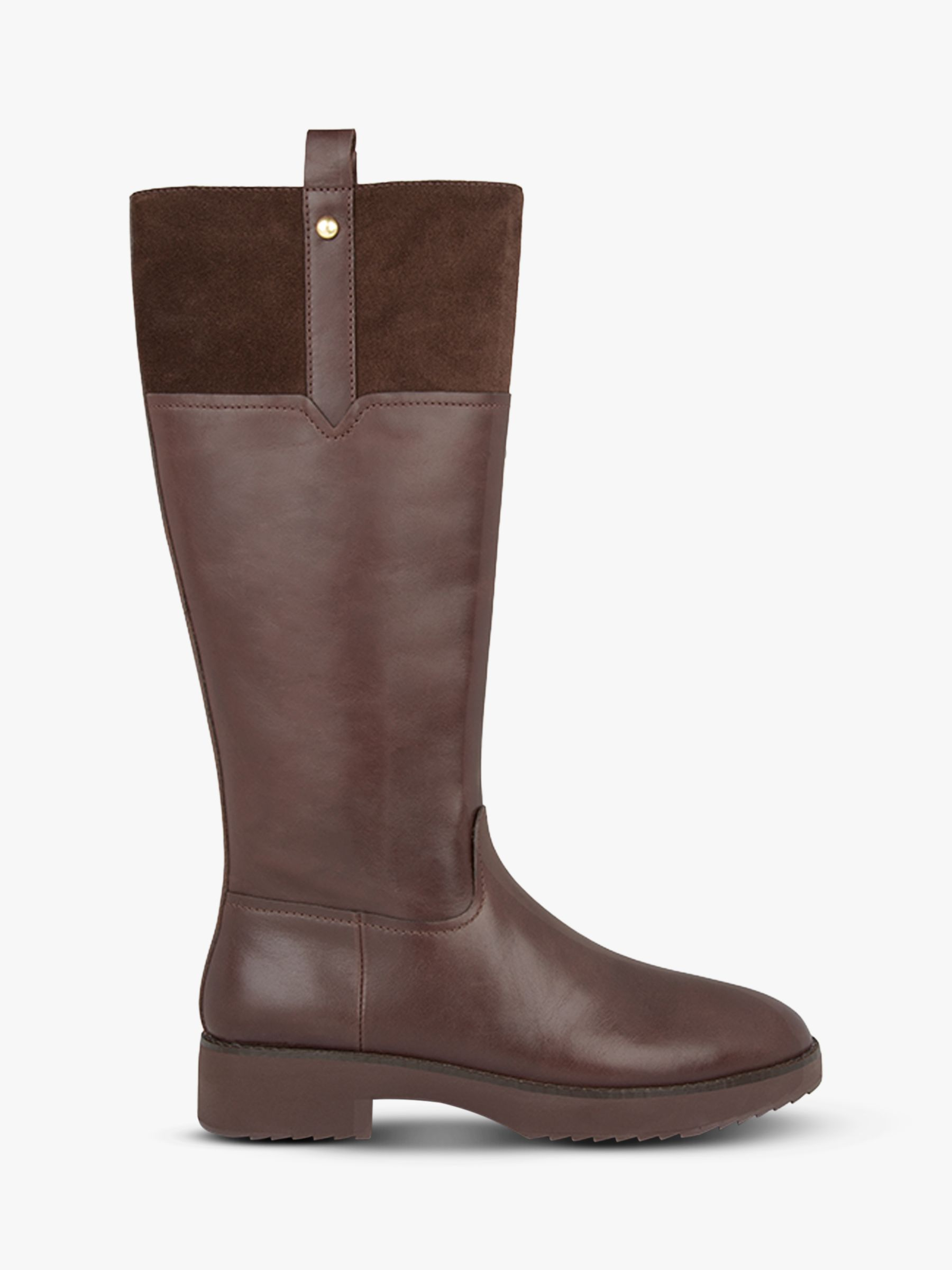 Fitflop Fitflop Signey Leather Knee High Boots