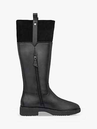 Fitflop Signey Leather Knee High Boots