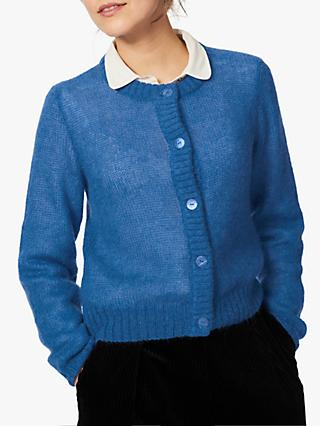 Brora Mohair Button Through Cardigan