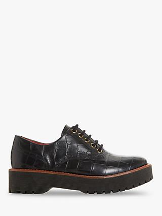 Bertie Federo Flatform Leather Brogues