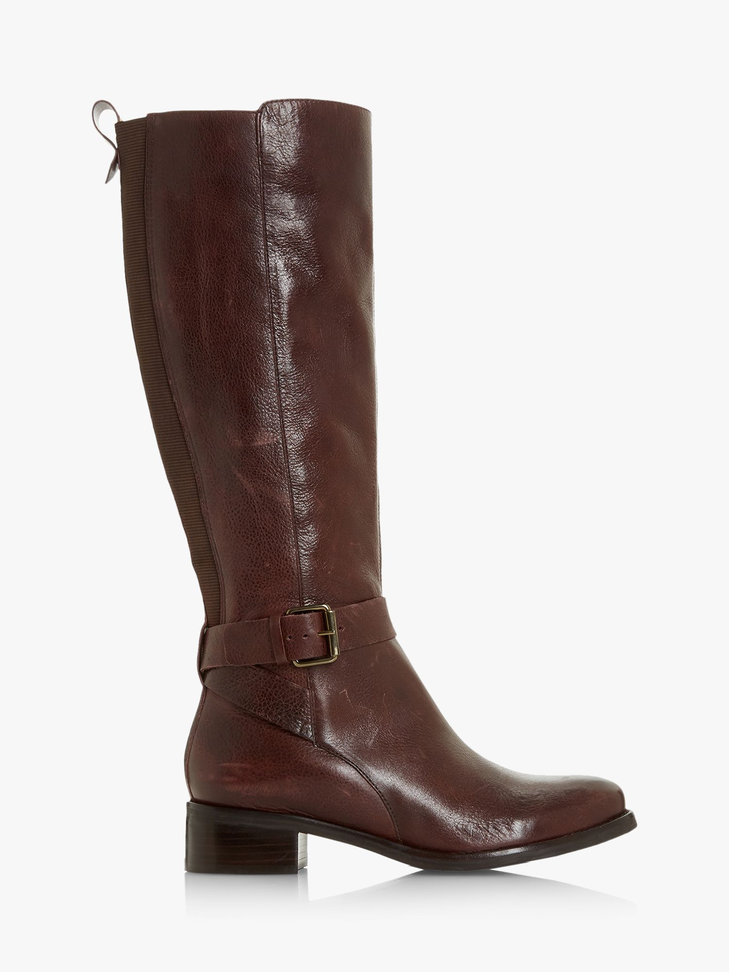 Bertie Bertie Taykonie Knee High Boots, Burgundy