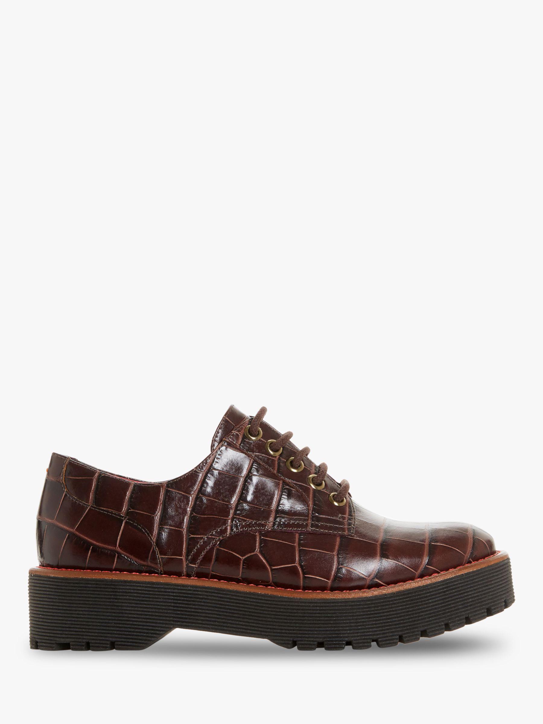 Bertie Bertie Federo Flatform Leather Brogues