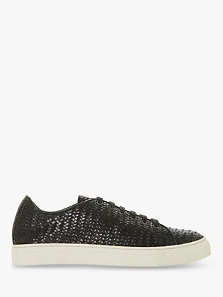 Bertie Endeavore Leather Low Top Trainers