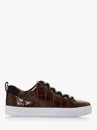 Bertie Emerse Leather Lace Up Trainers