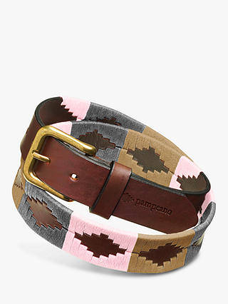 Buy pampeano Leather Polo Belt, Paramo, S Online at johnlewis.com