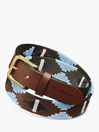 pampeano Tornado Leather Polo Belt