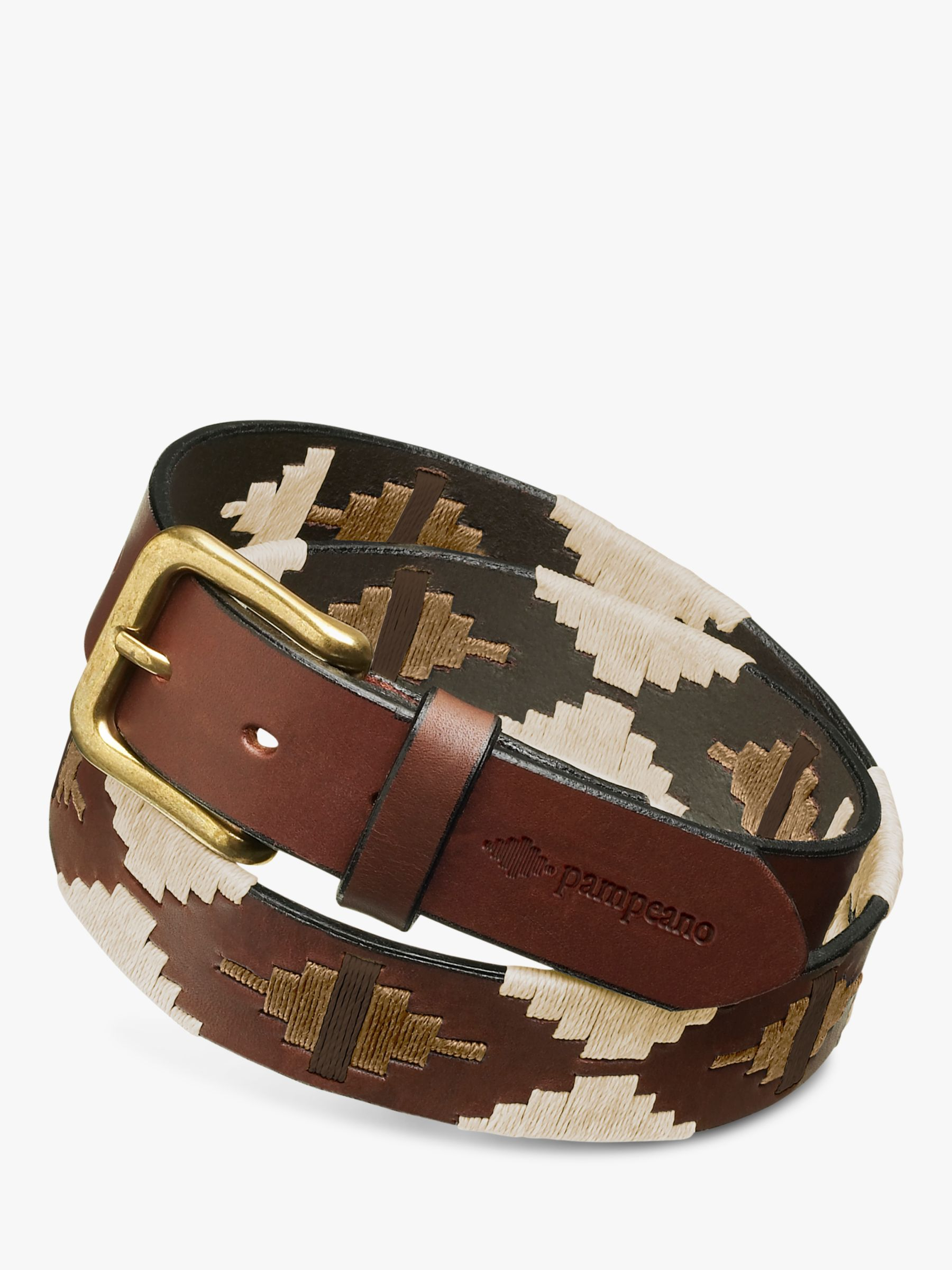 Pampeano pampeano Tornado Leather Polo Belt
