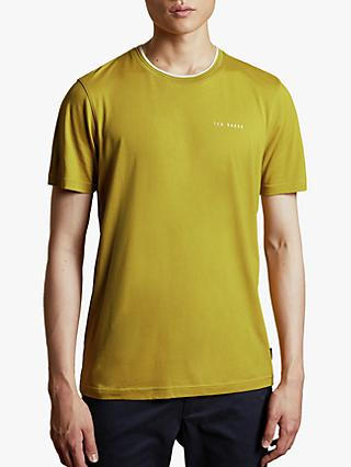 Ted Baker Rooma Short Sleeve T-Shirt, Lime Green
