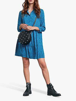 hush Fiona Shirt Dress, Dash Mykonos Blue
