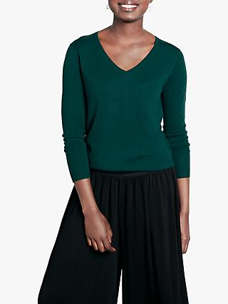 hush Fine Mila V-Neck Jumper