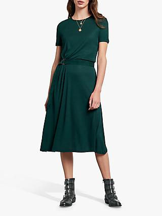 hush Ava Tie Jersey Dress, Ponderosa Pine