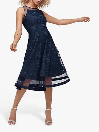 Coast Bluebell Midi Dress, Navy