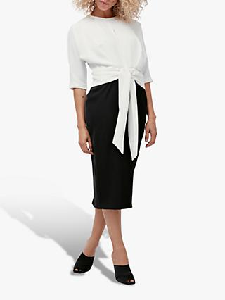 Coast Knot Front Dress, Mono