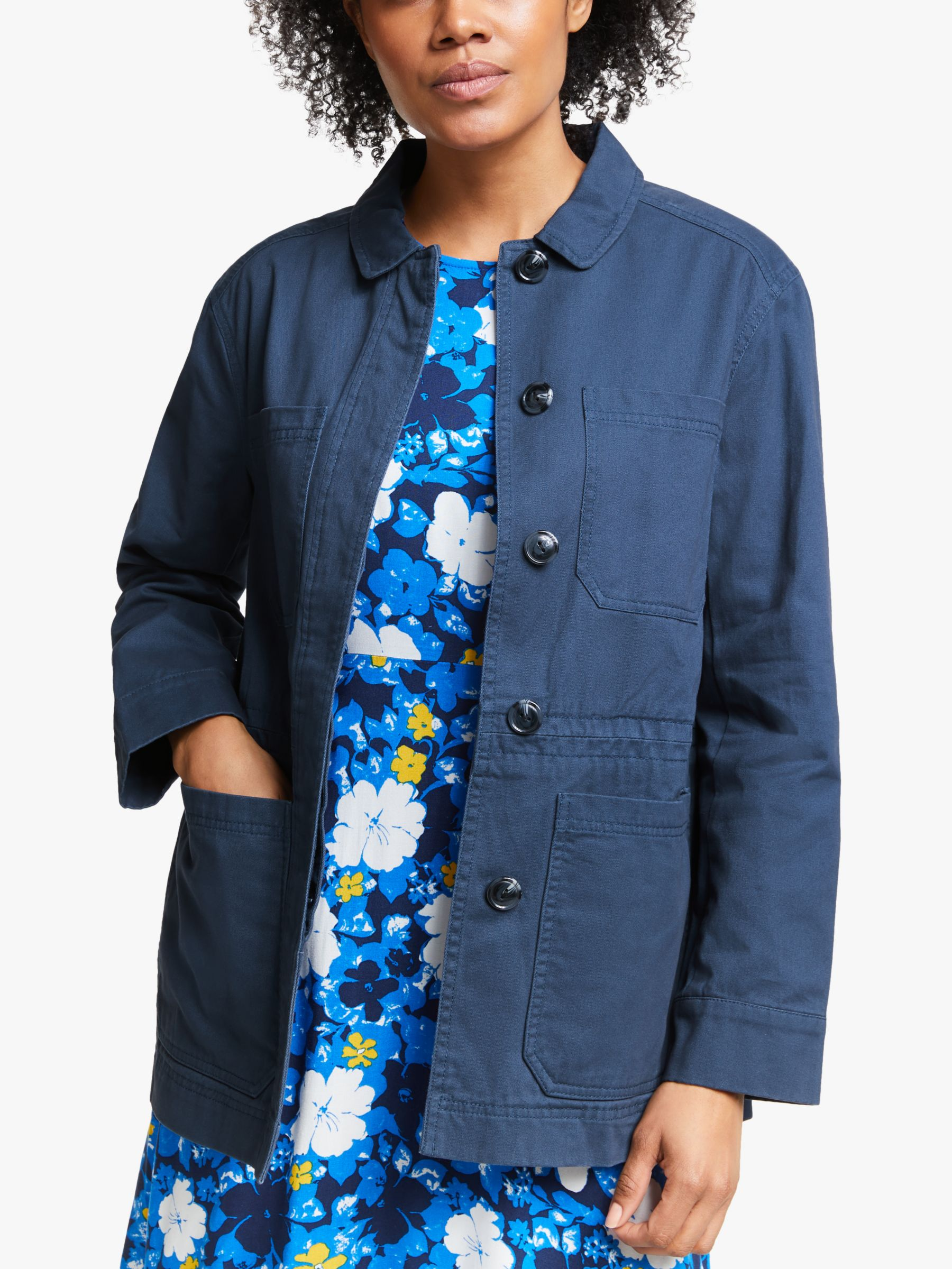 Collection WEEKEND by John Lewis Collection WEEKEND by John Lewis Cotton Shirt Jacket