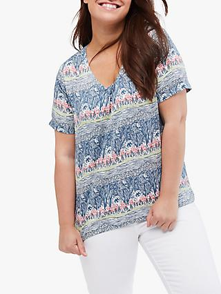 White Stuff Cove Top, Sea Blue