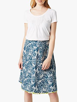 White Stuff Reversible Bennath Skirt, Grassy Green